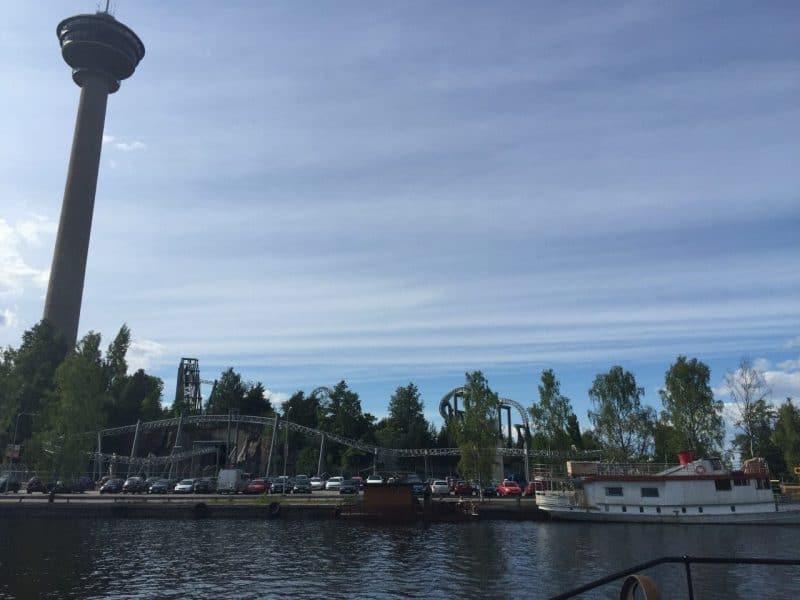 Saunalautta Tampereella